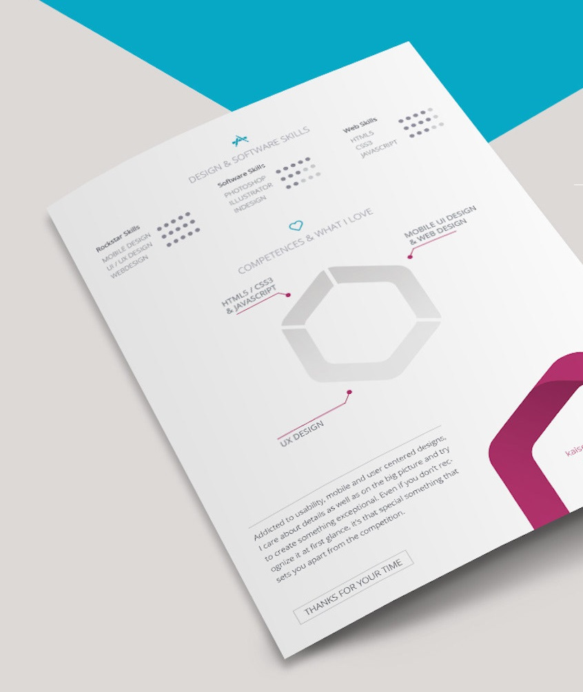 s1-3 InDesign resume template examples that look absolutely great