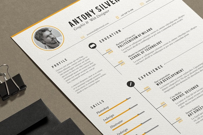 s1-378 InDesign resume template examples that look absolutely great