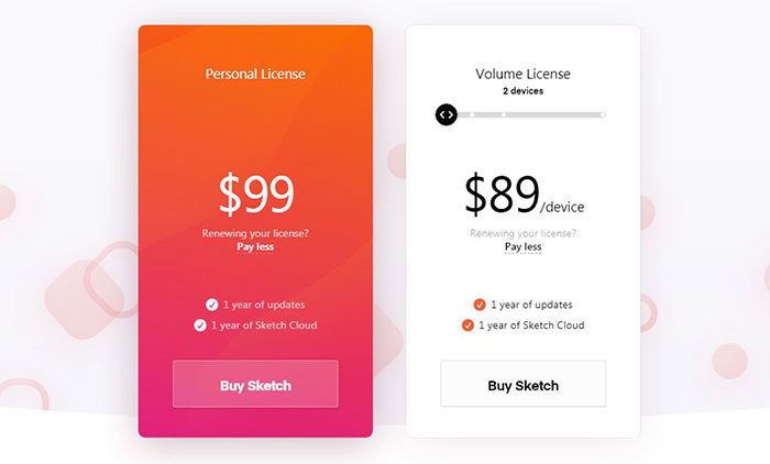 sketc-pricing-700x422 Sketch vs Illustrator, which one is a must buy for a designer?