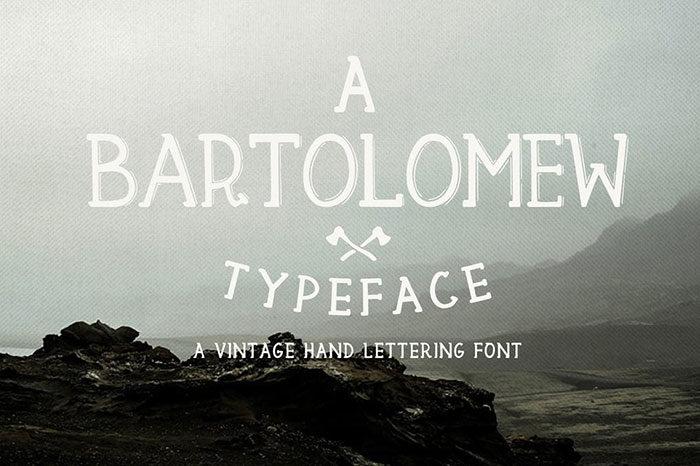 Bartolomew-700x466 Phông chữ công nghiệp mà bạn có thể sử dụng cho các thiết kế theo chủ đề