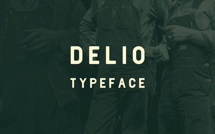 Delio-Sans-Serif-Font-700x438 Phông chữ công nghiệp mà bạn có thể sử dụng cho các thiết kế theo chủ đề