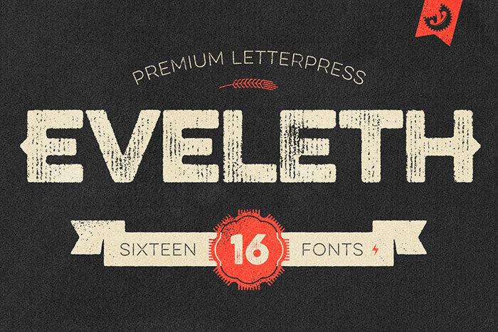 Eveleth-700x467 Phông chữ công nghiệp mà bạn có thể sử dụng cho các thiết kế theo chủ đề
