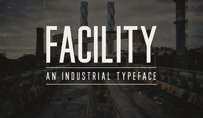 Cơ sở-Công nghiệp-Phông chữ-700x407 Phông chữ công nghiệp mà bạn có thể sử dụng cho các thiết kế theo chủ đề