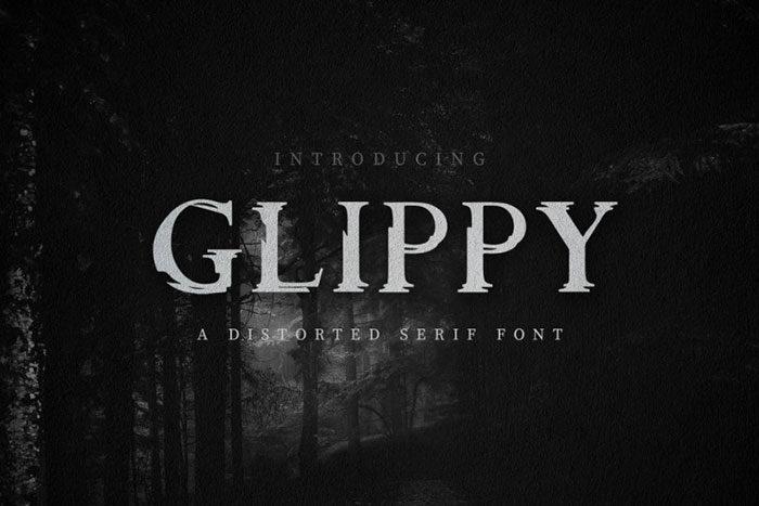Glippy-Industrial-Font-700x467 Phông chữ công nghiệp mà bạn có thể sử dụng cho các thiết kế theo chủ đề