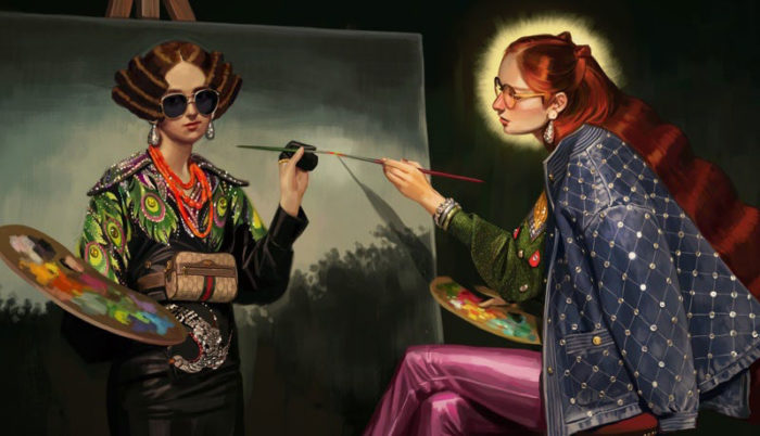 Gucci-—-illustrated-by-Ignasi-Monreal-700x402 The sometimes strange but impressive Gucci ads (Check them out)