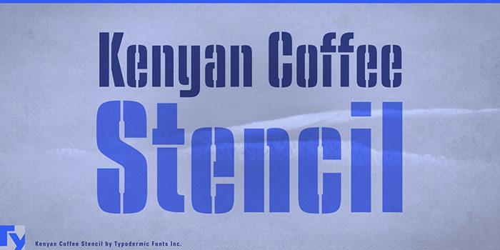 Kenyan-Coffee-Macintosh-Font-Nam- Free-700x350 Phông chữ công nghiệp mà bạn có thể sử dụng cho các thiết kế theo chủ đề
