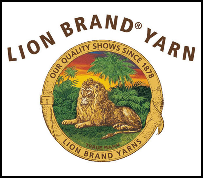 Lion-Brand-Yarns1-700x613 Lion logo designs for branding inspiration (Famous Examples)
