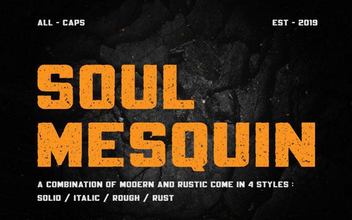 Mesquin-Sans-Font-700x438 Phông chữ công nghiệp mà bạn có thể sử dụng cho các thiết kế theo chủ đề