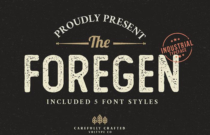 The-Premgen-Industrial-typeface-Vang- Free-700x450 Phông chữ công nghiệp mà bạn có thể sử dụng cho các thiết kế theo chủ đề