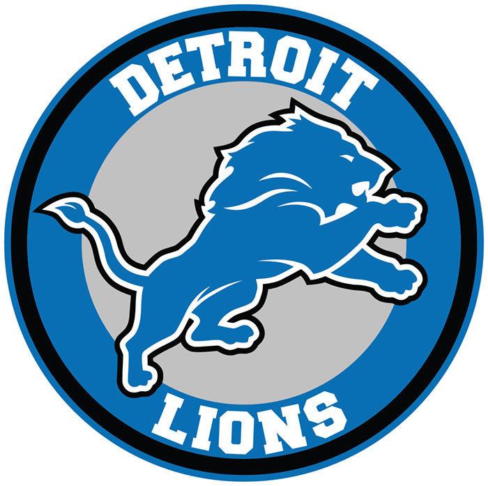 detroit-700x697 Lion logo designs for branding inspiration (Famous Examples)