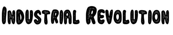 Industrial-Revolution-700x145 Phông chữ công nghiệp mà bạn có thể sử dụng cho các thiết kế theo chủ đề