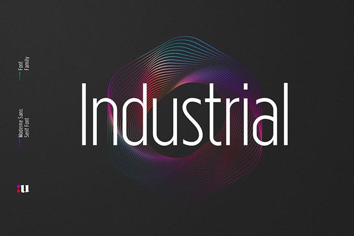 công nghiệp1-700x467 Phông chữ công nghiệp mà bạn có thể sử dụng cho các thiết kế theo chủ đề