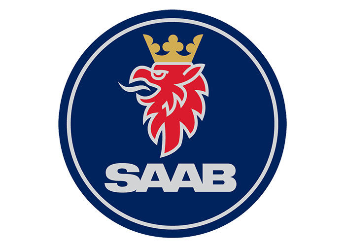 saab-700x501 Lion logo designs for branding inspiration (Famous Examples)
