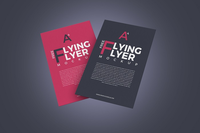 t1-4 Cool flyer mockup examples you should check out today