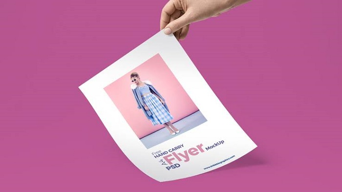 t1-6 Cool flyer mockup examples you should check out today