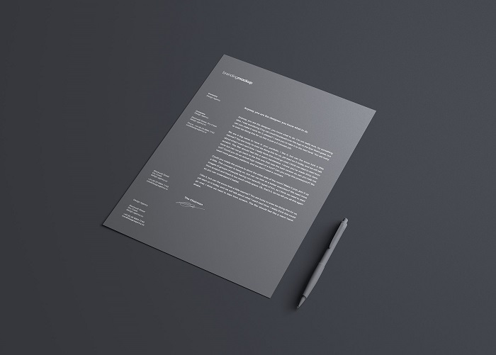 t2-33 The best letterhead mockup examples you will find online