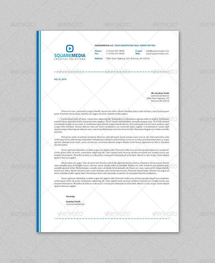 t2-34 The best letterhead mockup examples you will find online