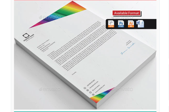 t2-40 The best letterhead mockup examples you will find online