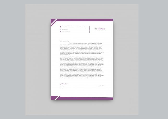 t2-43 The best letterhead mockup examples you will find online