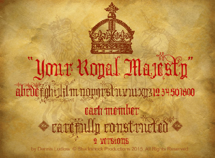 your_royal_majesty Game of Thrones font examples (Pick one from here)