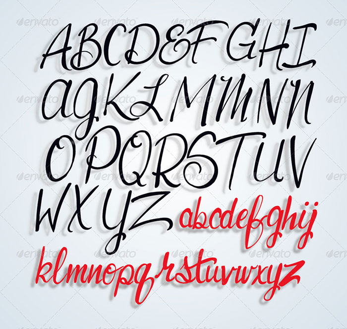 AlphabetArtisticFonts Awesome artistic fonts that you can quickly download for your projects