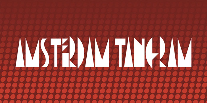 Amsterdam-Tangram-Font Awesome artistic fonts that you can quickly download for your projects
