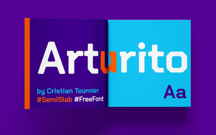 ArturitoFree-Font Awesome artistic fonts that you can quickly download for your projects