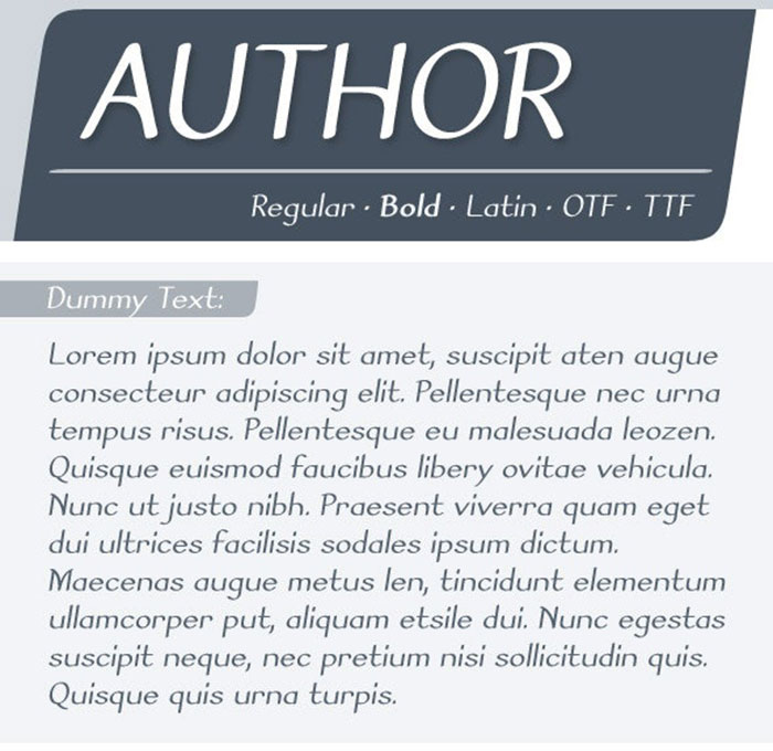 Author-Font Awesome artistic fonts that you can quickly download for your projects