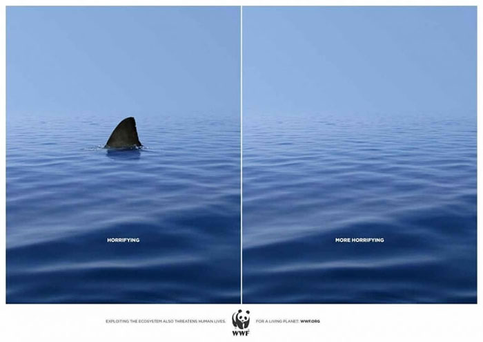 Horrifying Creative WWF ads that will surprise you with their message