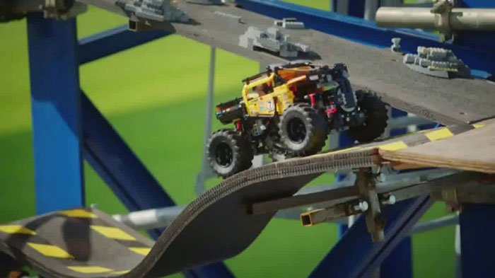 LEGO-Technic-4x4 Awesome LEGO ads that wake up your inner child