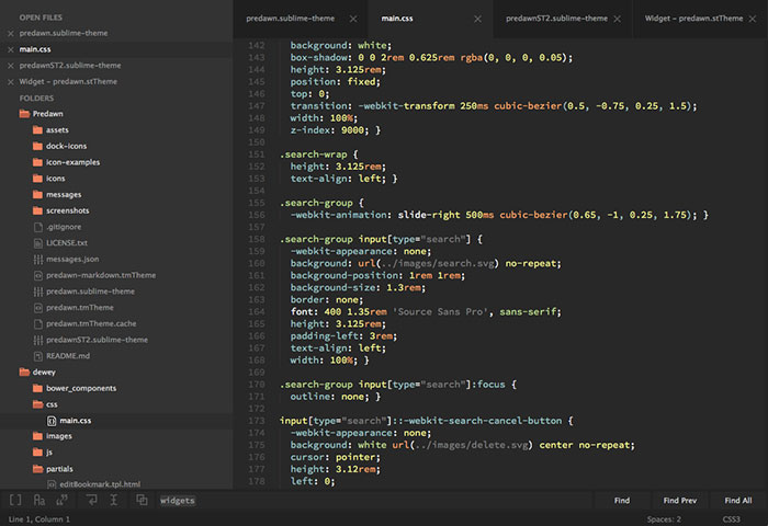 Sublime Themes To Use For A Better Color Scheme