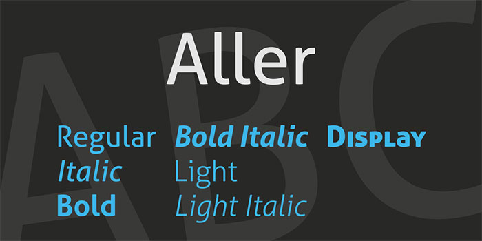 aller-1 Lato font pairing and combinations to use in your work