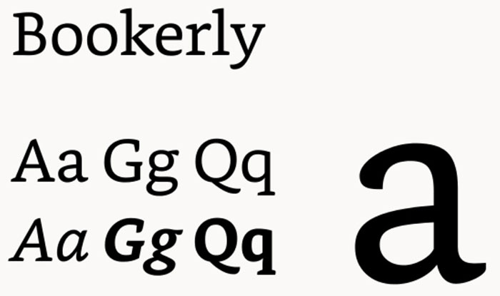 bookerly The Amazon font. What font does Amazon use (Answered)