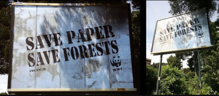 savepaper-700x307 Creative WWF ads that will surprise you with their message