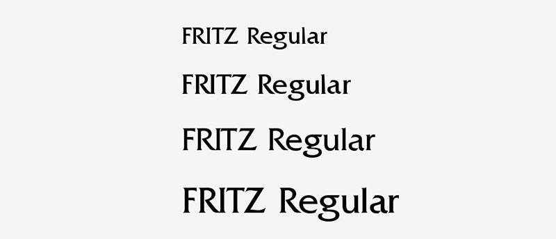 Fritz1 Une grande liste de polices faciles à lire (à vérifier)