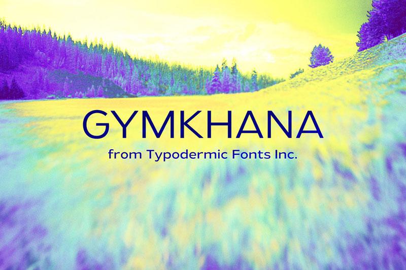 gymkhana Une grande liste de polices faciles à lire (à vérifier)