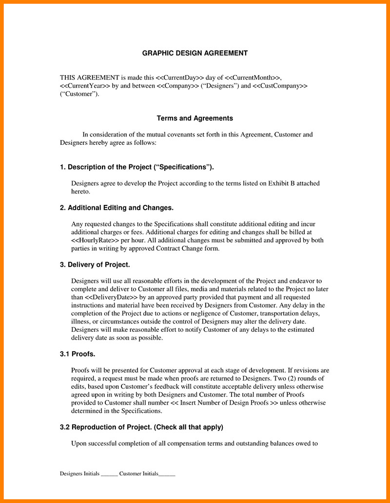 Graphic Design Contract Tips And Templates To Use