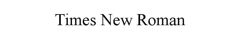 Times-New-Roman-The-classic Gotham options d'association de polices que vous devez connaître