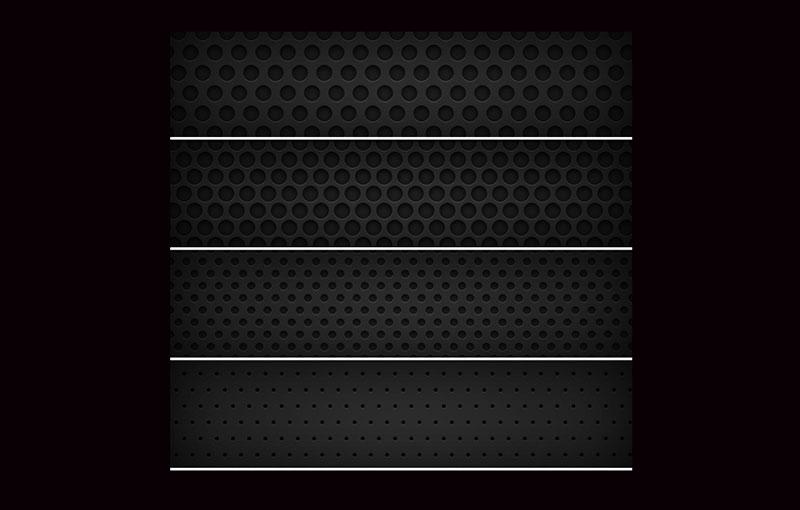8-Dark-Metal-Grid-Patterns-Quick-Patterns Téléchargez ces modèles Photoshop gratuits à utiliser dans votre travail