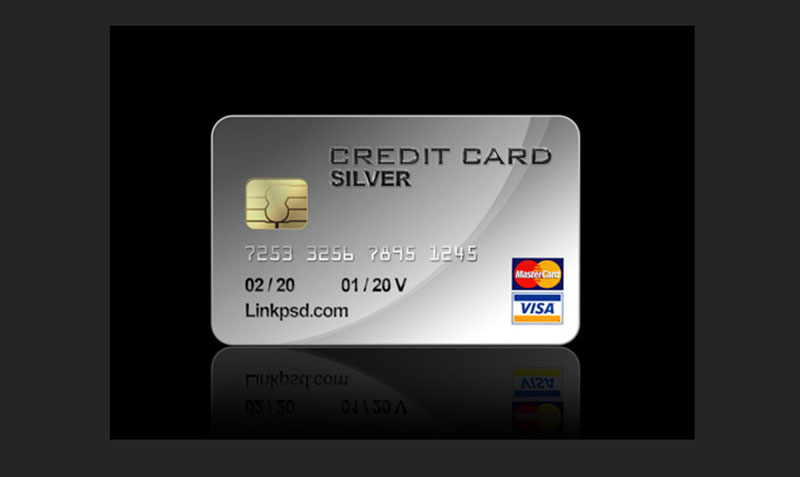 Credit Card PSD File1
