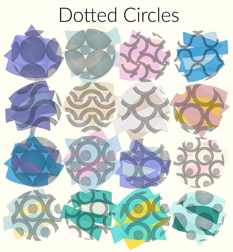 Dotted-Circles-Seamless-Patterns Téléchargez ces motifs Photoshop gratuits à utiliser dans votre travail
