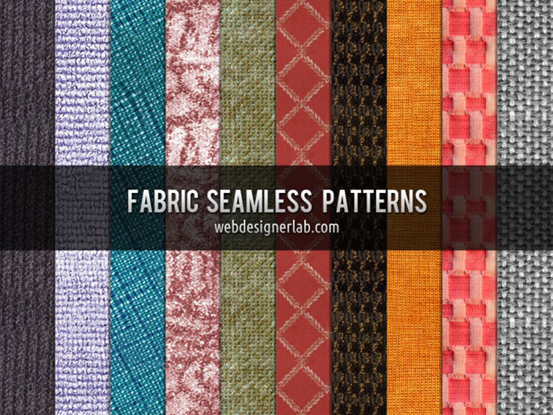 Textures sans couture de tissu-Textures d'excellente qualité Téléchargez ces motifs Photoshop gratuits à utiliser dans votre travail