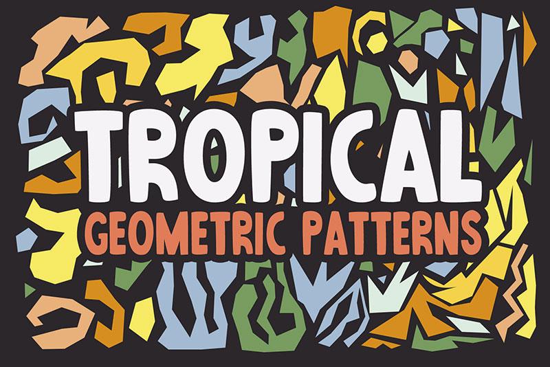 Free-Abstract-Tropical-Patterns Téléchargez ces modèles Photoshop gratuits à utiliser dans votre travail