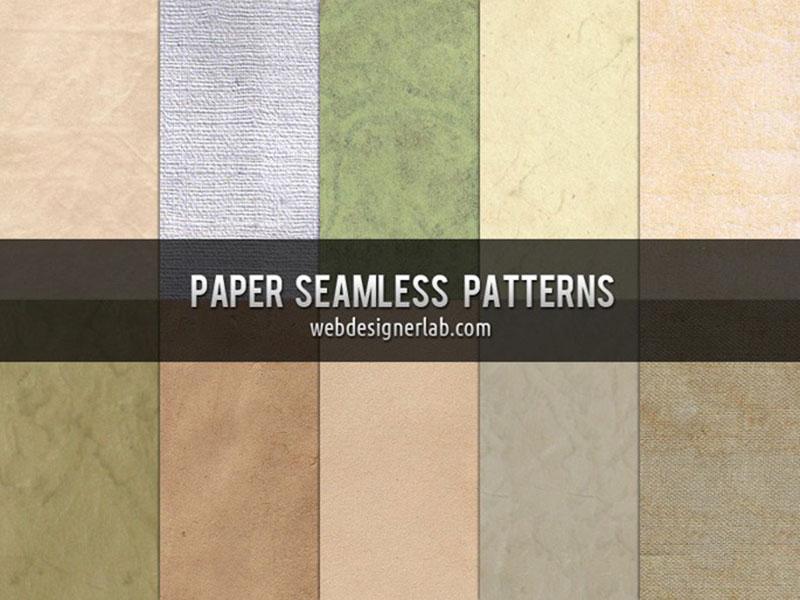 Free-Paper-Seamless-Patterns Téléchargez ces modèles Photoshop gratuits à utiliser dans votre travail