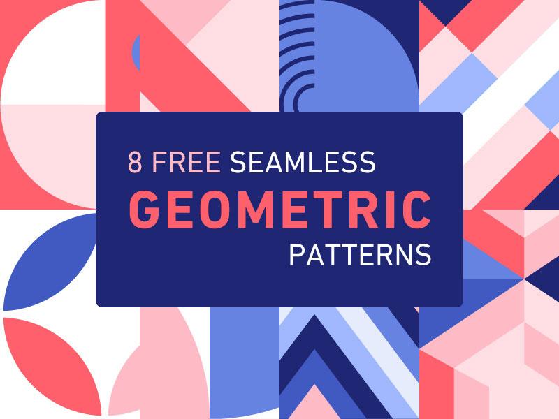 Free-Seamless-Geometric-Patterns-Minimalist-style Téléchargez ces motifs Photoshop gratuits à utiliser dans votre travail