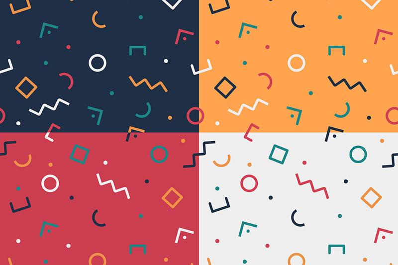 Free-Universal-Geometric-Vector-Pattern Téléchargez ces motifs Photoshop gratuits à utiliser dans votre travail