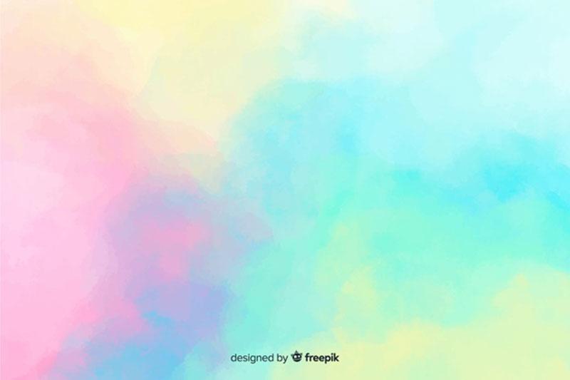 Couleur pastel-aquarelle-tache-fond Téléchargez ces belles textures de fond dès maintenant