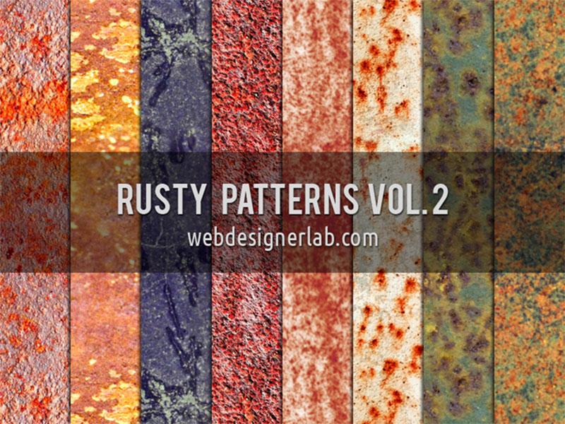 Rusty-Patterns-Vol2 Téléchargez ces modèles Photoshop gratuits à utiliser dans votre travail