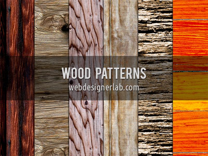 Wood-Patterns Téléchargez ces modèles Photoshop gratuits à utiliser dans votre travail