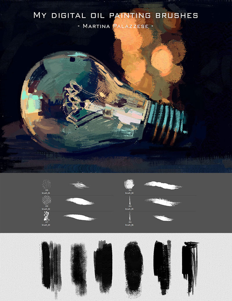 Photoshop painting brushes to use for better designs